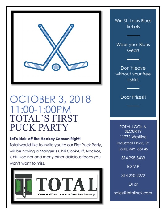 First Puck Party